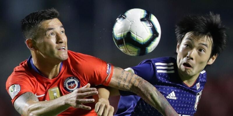 Şili'den Japonya'ya 4 gol
