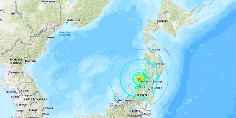 Japonya'da deprem! Tsunami bekleniyor