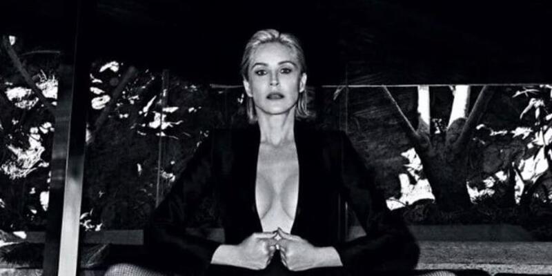 Sharon Stone yürek hoplattı