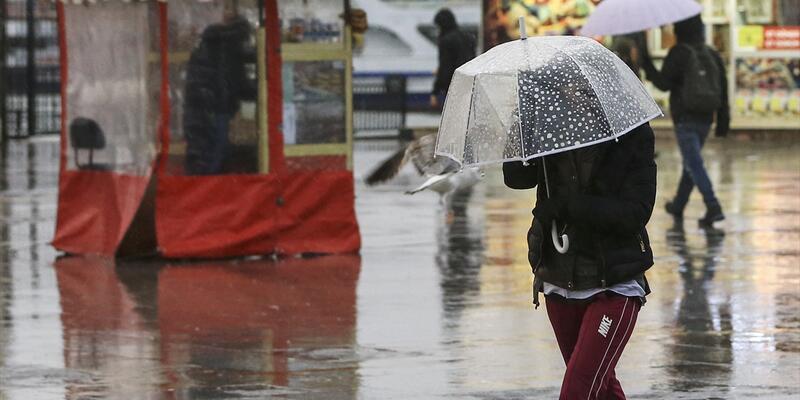 Hava durumu: Yağmur ne zaman duracak? Meteoroloji saat verdi