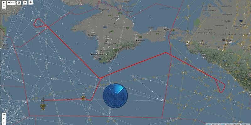 ABD keşif uçağı Kırım üzerinde uçtu