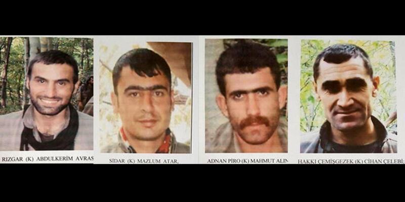Son dakika! Tunceli'de 4 terörist etkisiz hale getirildi!