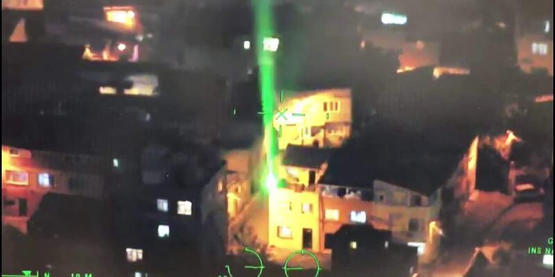 14 bin TL'lik cezaya rağmen 6 uçağa lazer tacizi