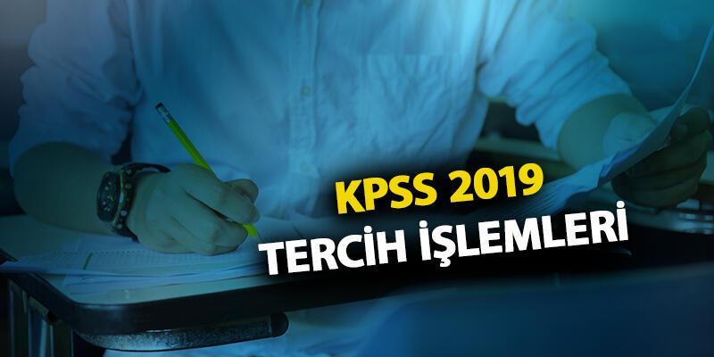 Son dakika… Tercih kılavuzu ÖSYM'de! KPSS 2019 tercihleri başladı