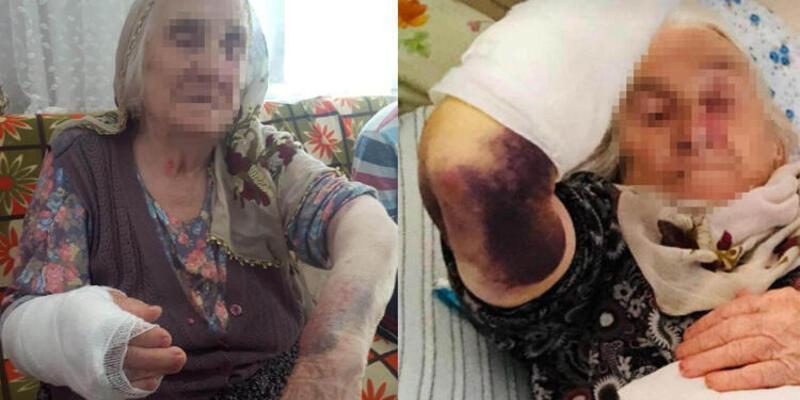 Samsun'da gelin dehşeti! 92 yaşındaki kayınvalidesini dövdü!