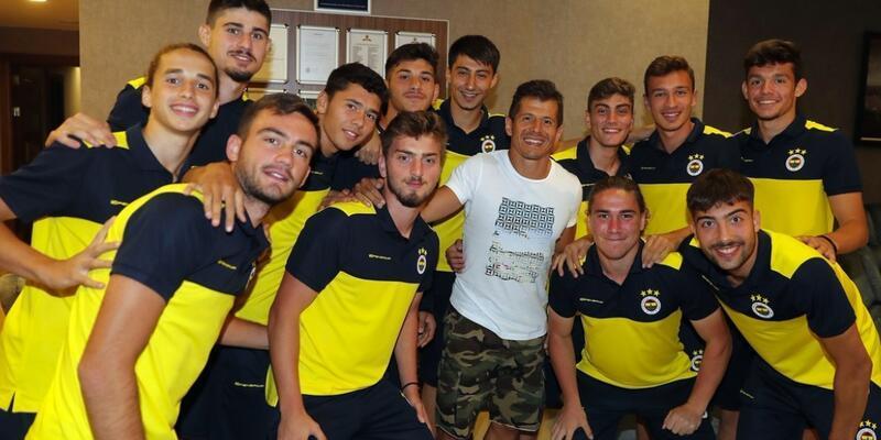 Emre Belözoğlu kampa katıldı