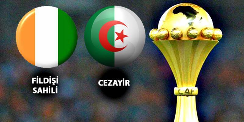 Fildişi Sahili, Cezayir çeyrek final maçı ne zaman, saat kaçta, hangi kanalda?