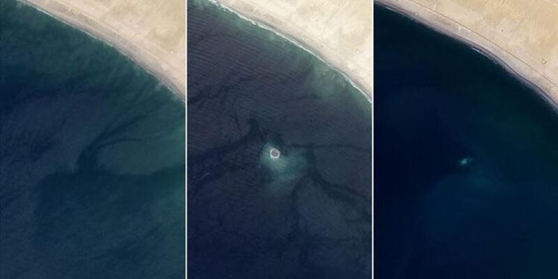 Pakistan'daki Zalzala Koh adası kayboldu