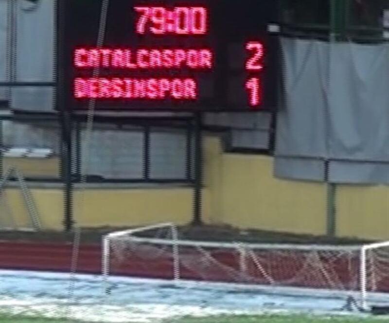 Çatalcaspor'dan Dersimspor açıklaması
