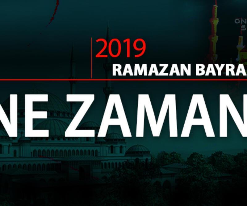 Ramazan Bayramı ne zaman, bayram tatili hangi gün başlıyor?