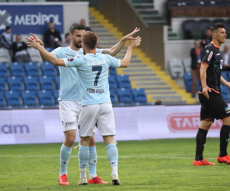 Başakşehir 1-1 Alanyaspor / Maç Özeti
