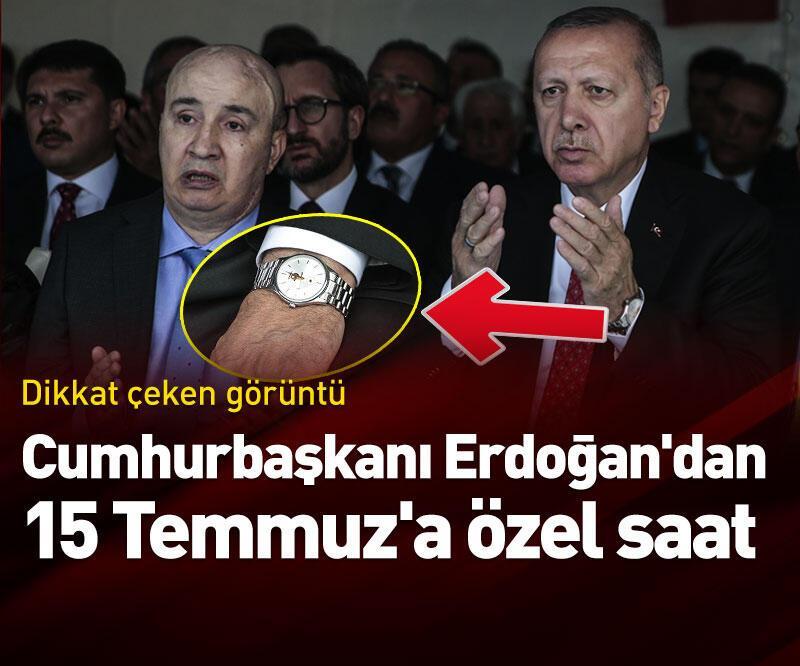 Son dakika: Cumhurbaşkanı Erdoğan'dan 15 Temmuz'a özel saat