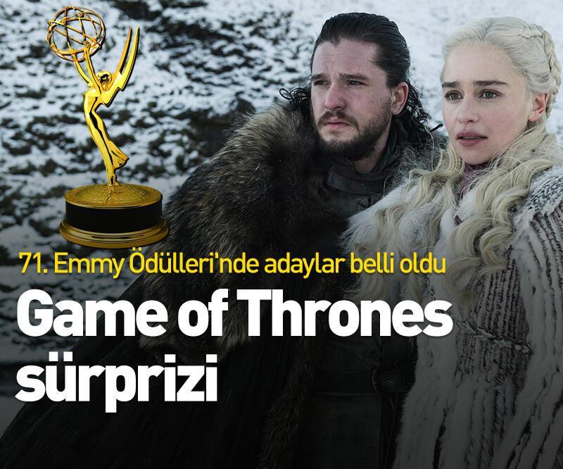 Son dakika: 71. Emmy Ödülleri adayları belli oldu