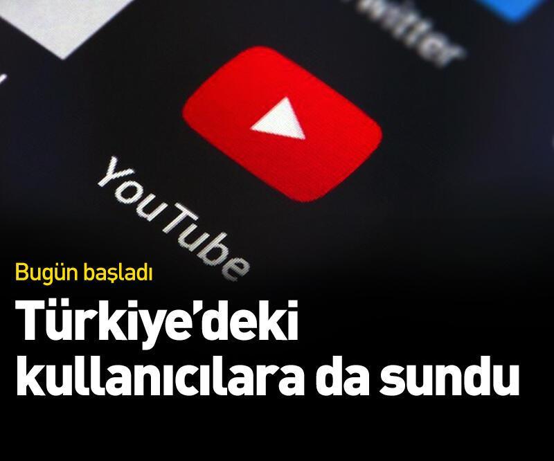 Son dakika: Türkiye'deki kullanıcılara da sundu