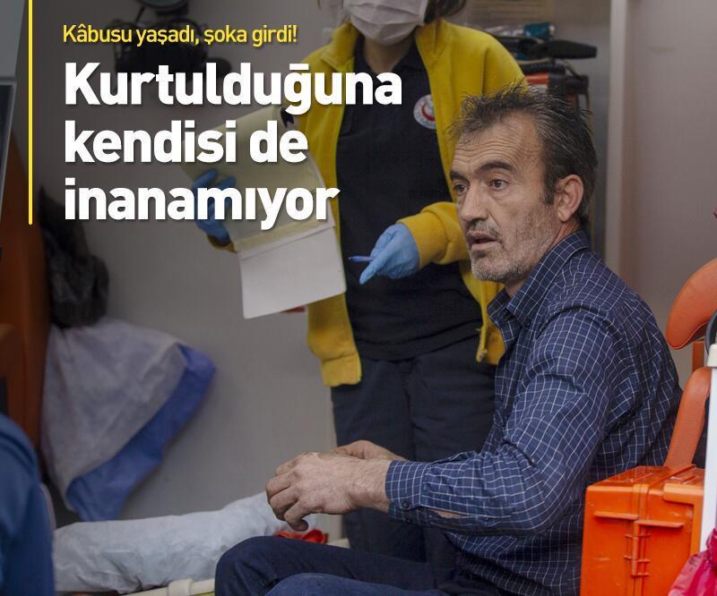Son dakika: Ankara'da akılalmaz kaza! Hurdaya dönen araçtan sağ çıktı!