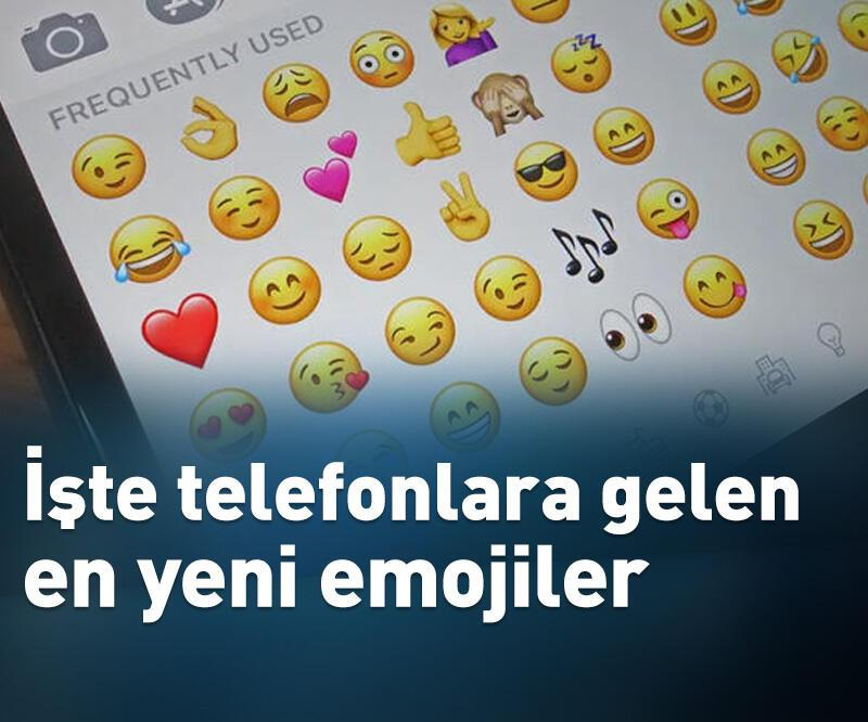 Son dakika: İşte telefonlara gelen en yeni emojiler