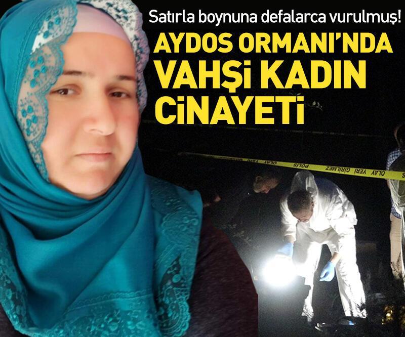 Son dakika: Aydos Ormanı'nda vahşi kadın cinayeti