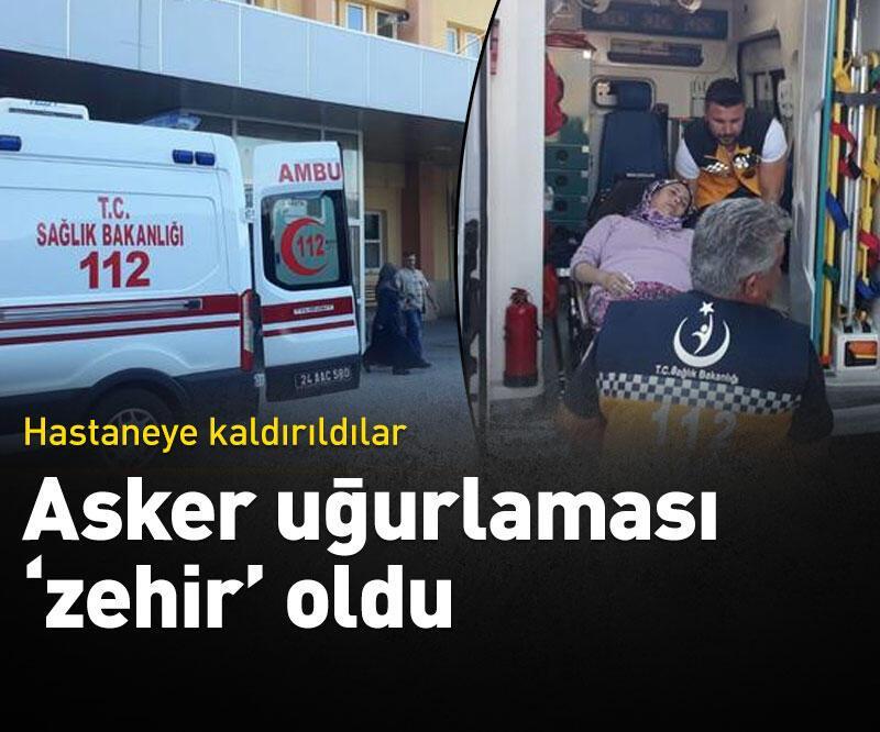 Son dakika: Asker uğurlama yemeğinden sonra rahatsızlanan 38 kişi hastaneye kaldırıldı