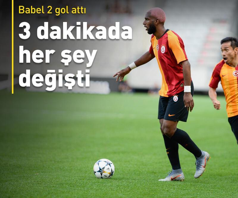 Son dakika: Galatasaray 3 dakikada 3 gol yedi