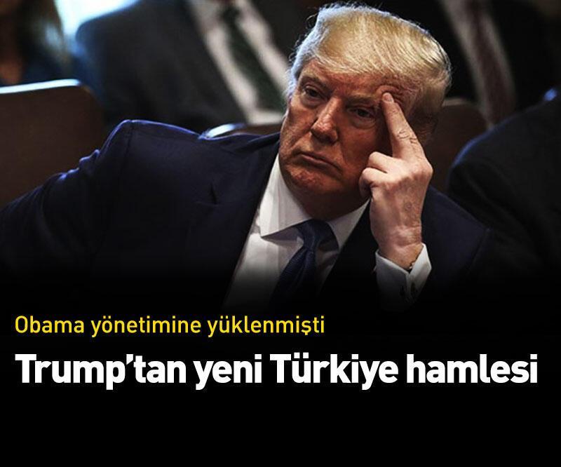 """Son dakika: Trump'tan Cumhuriyetçi senatörlere """"Türkiye"""" daveti"""