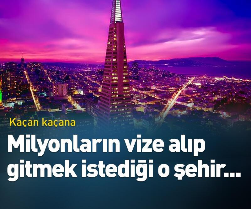 Son dakika: Milyonların vize alıp gitmek istediği şehirden...