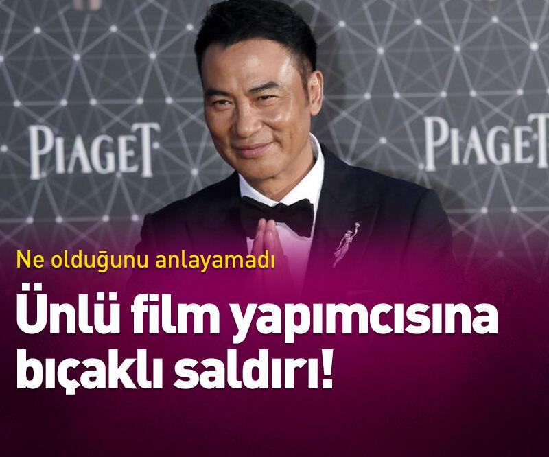 Son dakika: Ünlü oyuncu ve film yapımcısına bıçaklı saldırı!
