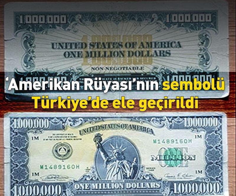 Son dakika: Uşak'ta 1 milyon dolarlık banknot ele geçirildi