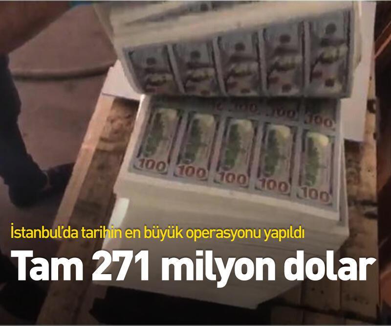 Son dakika: Tam 271 milyon dolar