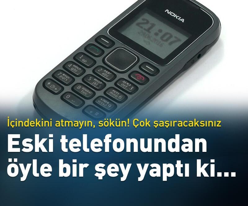 Son dakika: Eski telefon deyip geçmeyin!