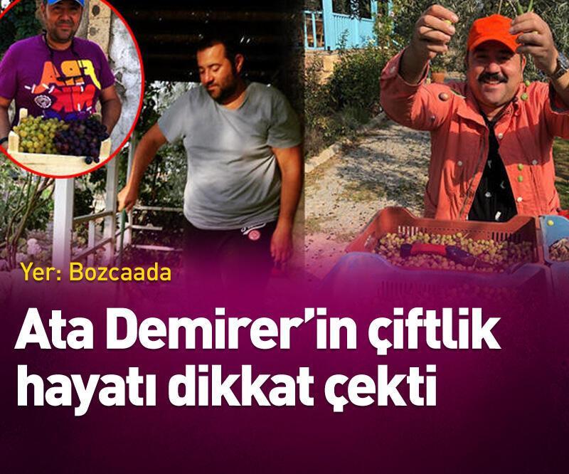 Son dakika: Ata Demirer'in çiftlik hayatı dikkat çekti
