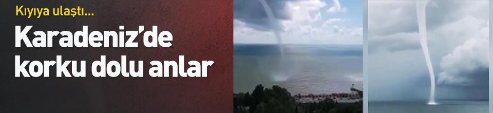 Karadeniz'de korku dolu anlar