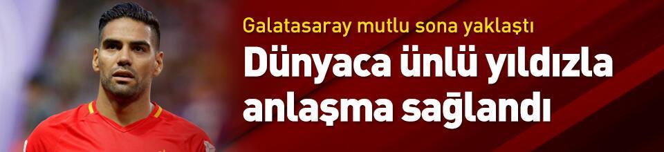 Galatasaray Falcao ile anlaştı