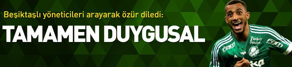 Vitor Hugo'dan Beşiktaş'a telefon