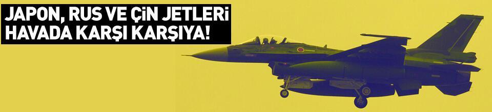 Japon savaş uçaklarından Rusya ve Çin uçaklarına müdahale